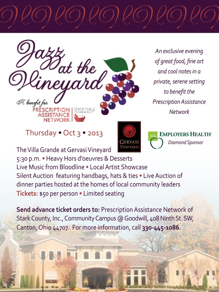 Jazz at the Vineyard Save the Date card WEB